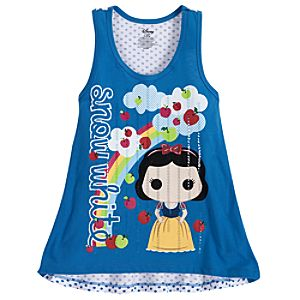 POP! Snow White Tank Tee for Girls