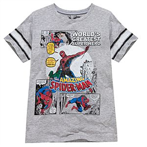 Comic Spider-Man Tee by Mighty Fine for Boys