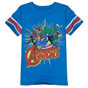 Avengers Assemble Marvel Tee for Boys by Mighty Fine