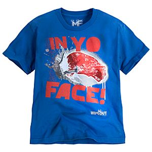In Yo Face! Wipeout Tee for Boys by Mighty Fine