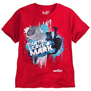 Thatll Leave a Mark Wipeout Tee for Boys by Mighty Fine