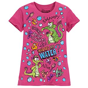 Wheres My Water? Allie and Swampy Tee for Girls