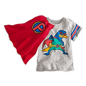 Perry Mission Marvel Tee for Boys with Cape