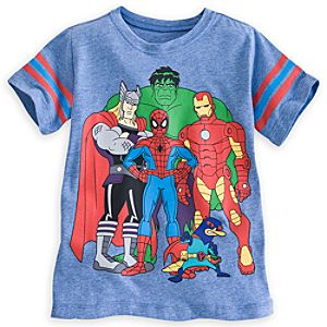 Perry Mission Marvel Tee for Boys by Mighty Fine