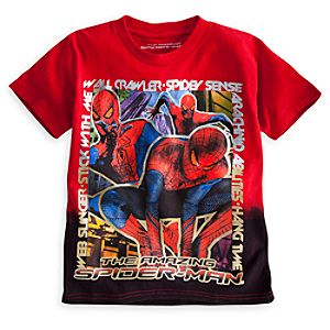 Spider-Man Dip Dye Tee for Boys