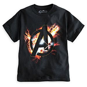 The Avengers Logo Tee for Boys