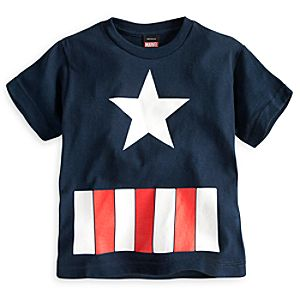Captain America Tee for Boys