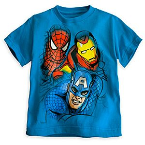 Marvel Heroes Tee for Boys