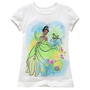 Tiana Tee for Girls -- Made With Organic Cotton