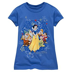 Snow White Tee for Girls -- Made With Organic Cotton