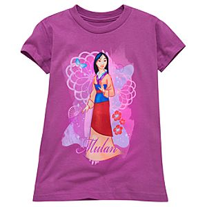 Mulan Tee for Girls -- Made With Organic Cotton
