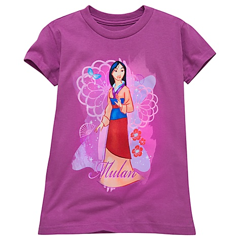 Organic Cotton Mulan Tee for Girls