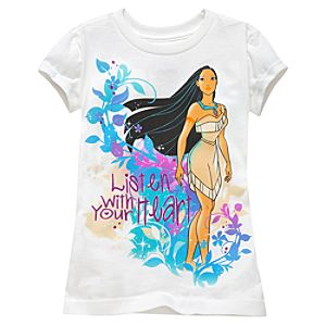 Pocahontas Tee for Girls -- Made With Organic Cotton