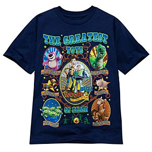 Circus Toy Story Tee for Kids -- Made With Organic Cotton