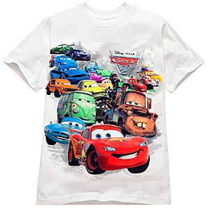 Cars 2 Tee for Kids -- Made With Organic Cotton