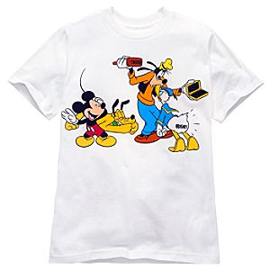 Copyright Mickey Mouse and Friends Tee for Kids -- Made With Organic Cotton
