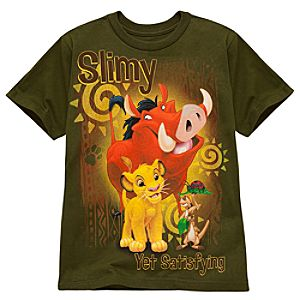 Slimy Yet Satisfying The Lion King Tee for Kids -- Made With Organic Cotton
