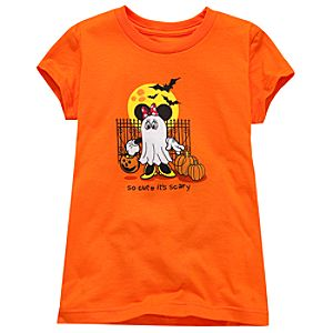 Halloween Minnie Mouse Tee for Girls