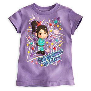 Vanellope Von Schweetz Tee for Girls - Wreck it Ralph