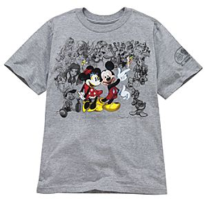 Limited Edition D23 Exclusive 25th Anniversary 25 Years of Magic Disney Tee for Kids