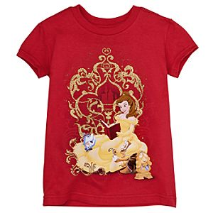 Glitter Belle Tee for Girls -- Made With Organic Cotton