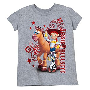 Bullseye and Jessie Tee for Girls -- Made With Organic Cotton