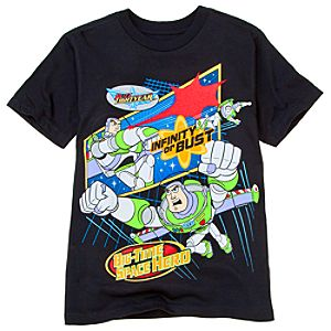 Infinity or Bust Buzz Lightyear Tee for Boys -- Made With Organic Cotton