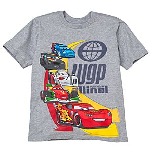 World Grand Prix Cars 2 Tee for Boys -- Made With Organic Cotton
