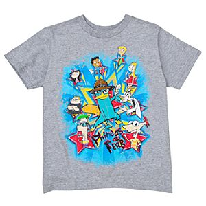 Phineas and Ferb Tee for Kids -- Made With Organic Cotton