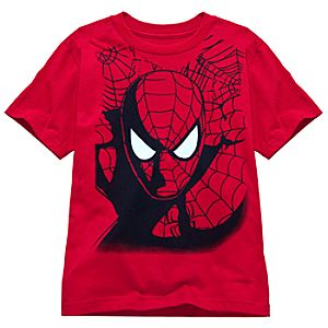 Masked Spider-Man Tee for Boys -- Made With Organic Cotton