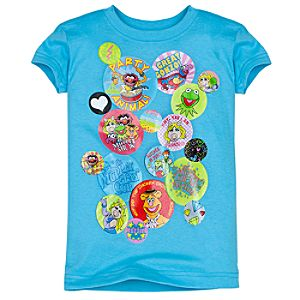 Button Muppets Tee for Girls