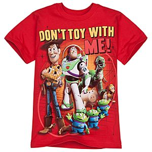 Dont Toy With Me! Toy Story Tee for Boys