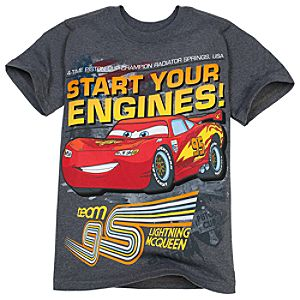 Start Your Engines Lightning McQueen Tee for Boys