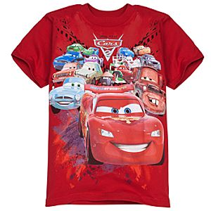 Cast of Cars 2 Tee for Boys