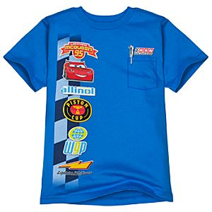 Patches Lightning McQueen Tee for Boys -- Made with Organic Cotton
