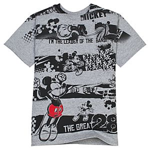 Leader of the Band Mickey Mouse Tee for Boys