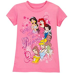 All About the Princess Disney Princess Tee for Girls