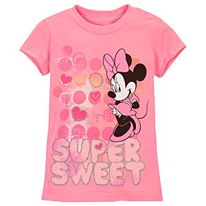 Super Sweet Minnie Mouse Tee for Girls