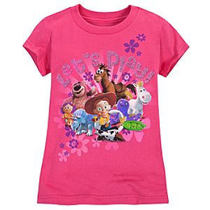 Lets Play! Toy Story Tee for Girls