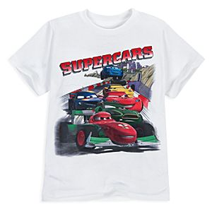 Supercars Cars 2 Tee for Boys