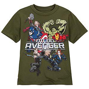 Im An Avenger Avengers Tee for Boys