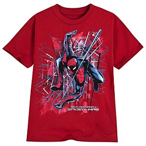 The Amazing Spider-Man Tee for Boys -- Red