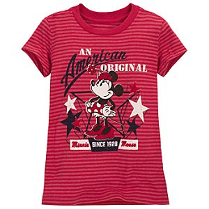 American Original Minnie Mouse Tee for Girls
