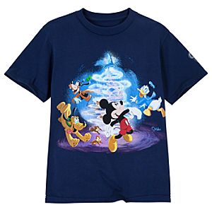 Disney Store 25th Anniversary World of Disney Tee for Boys