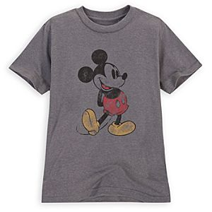 Heathered Mickey Mouse Tee for Boys