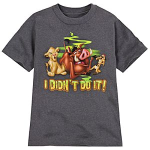 I Didnt Do It! The Lion King Tee for Boys