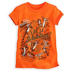 Tigger Tee for Girls