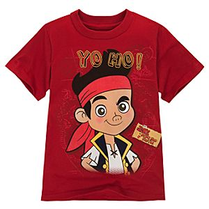 Jake and the Never Land Pirates Jake Tee for Boys