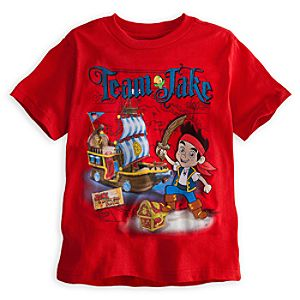 Team Jake Jake and the Never Land Pirates Tee for Boys
