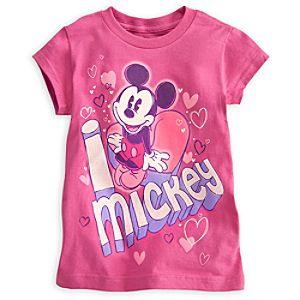 Mickey Mouse Tee for Girls